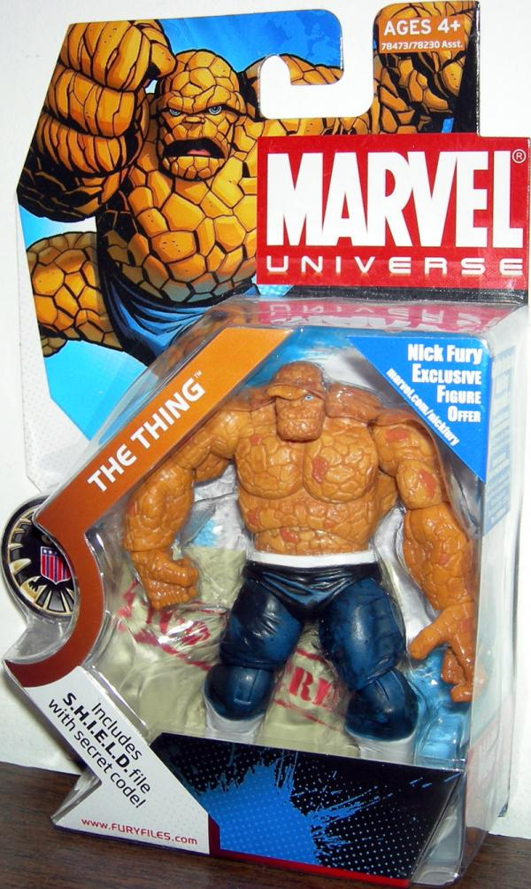 Thing Marvel Universe dark pants 019 action figure