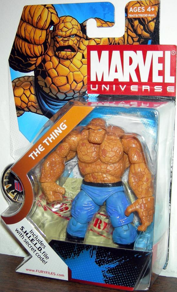 The Thing Marvel Universe, 019