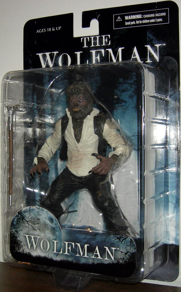 The Wolfman 2010 Movie Action Figure Mezco Toyz