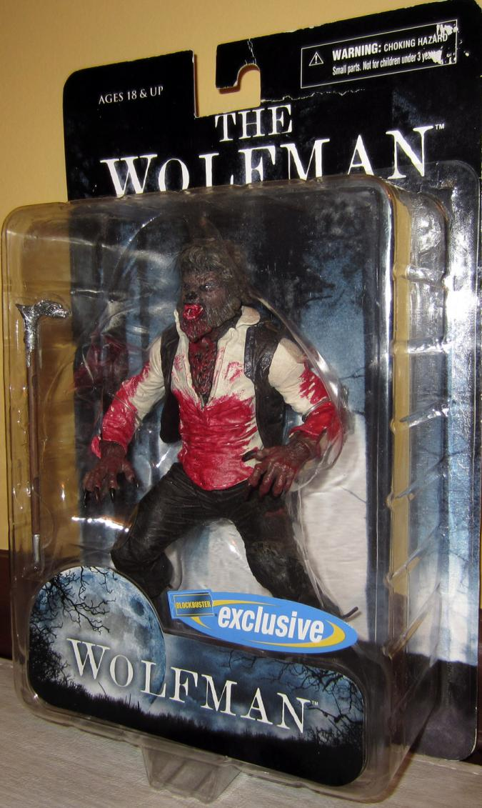 Wolfman 2010 Movie Blockbuster Exclusive action figure