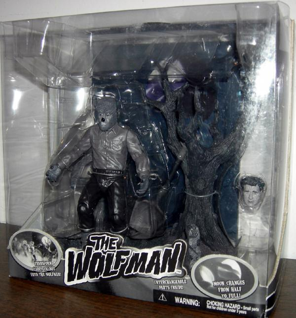 The Wolfman black white
