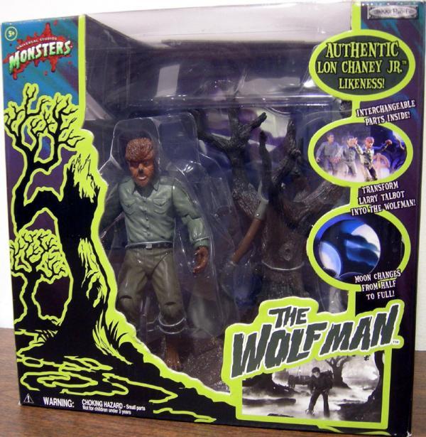 Wolfman Universal Studios Monsters Color action figure