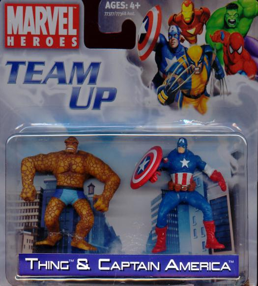 Thing Captain America Team Up