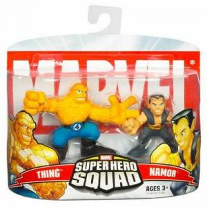 Thing Namor Super Hero Squad action figures