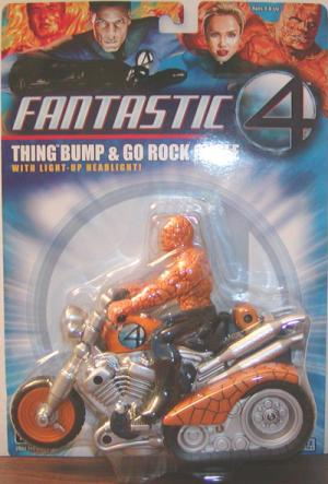Thing Bump Go Rock Cycle Fantastic 4 Four action figure vehicle
