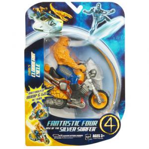 Things Clobberin Cycle Fantastic 4 Four Rise Silver Surfer Movie action figure