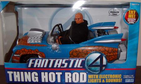 Thing Hot Rod Fantastic 4 Four action figure vehicle