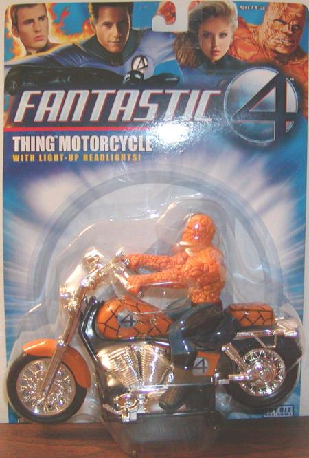 Thing Motorcycle Vehicle Fantastic 4 Four action figure