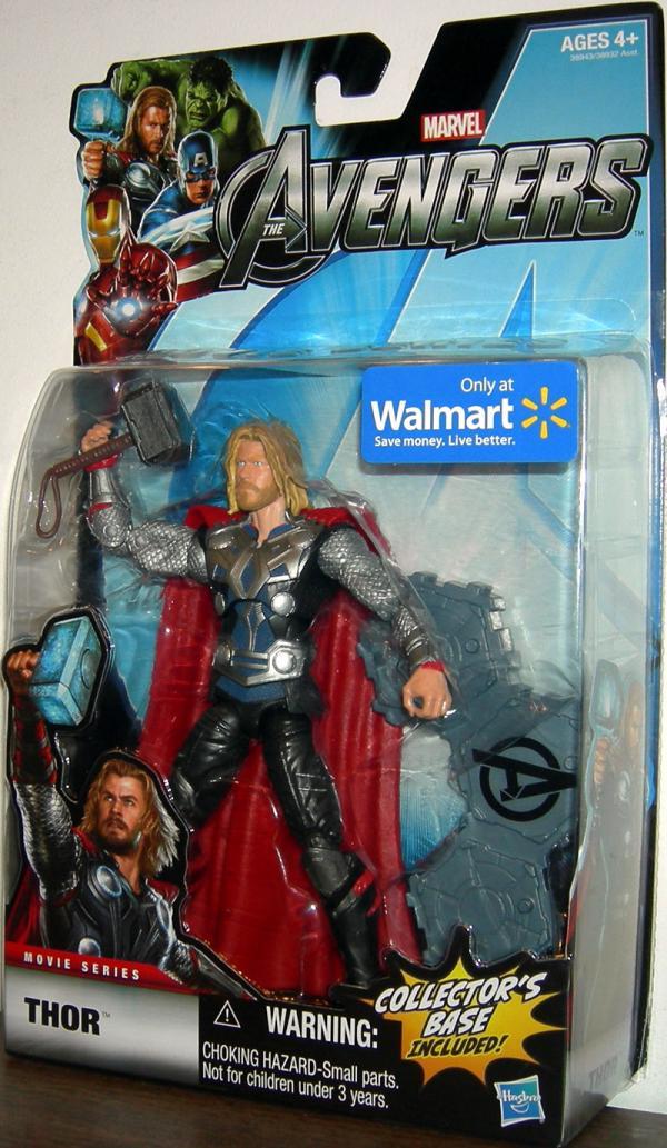 Thor Figure Avengers Movie Series Walmart Exclusive