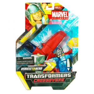 Thor Transformers Crossovers Marvel Universe Vehicle Hero action figure