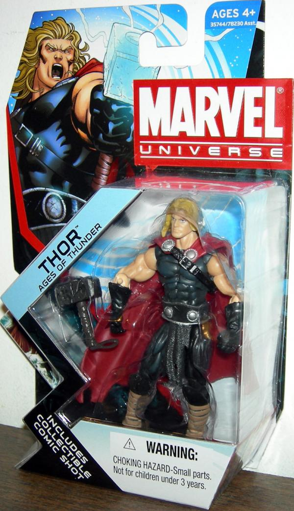 Thor Ages Thunder Marvel Universe Series 4 001 action figure