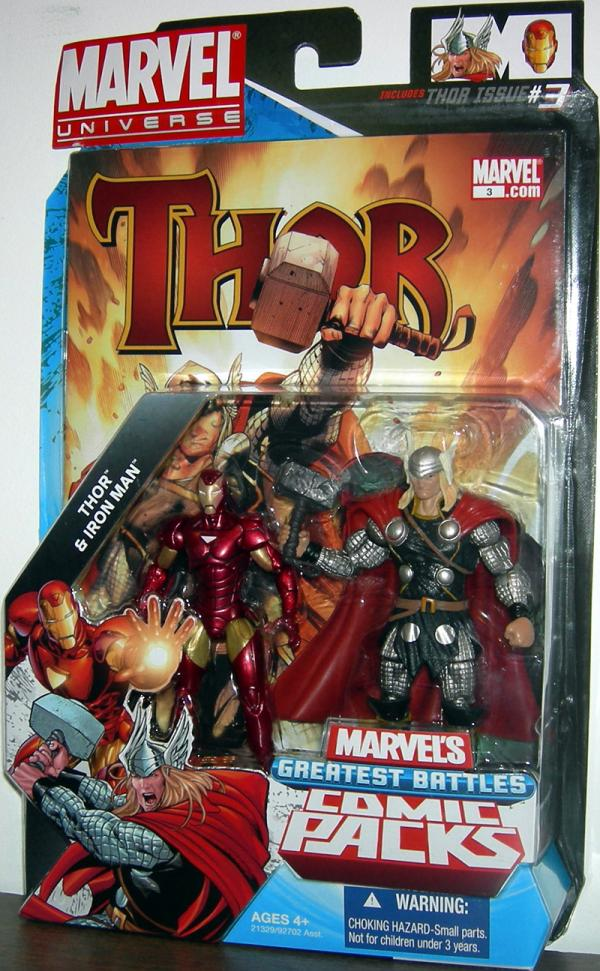 Thor Iron Man Marvel Universe action figures