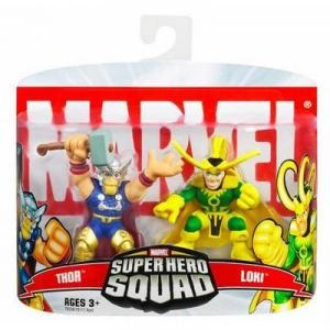 Thor Loki Super Hero Squad action figures