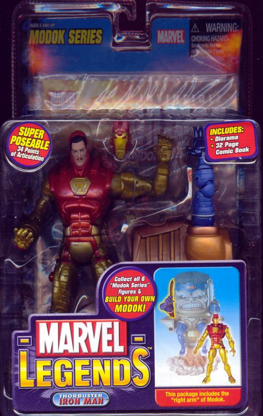 Thorbuster Iron Man Marvel Legends Modok Series action figure