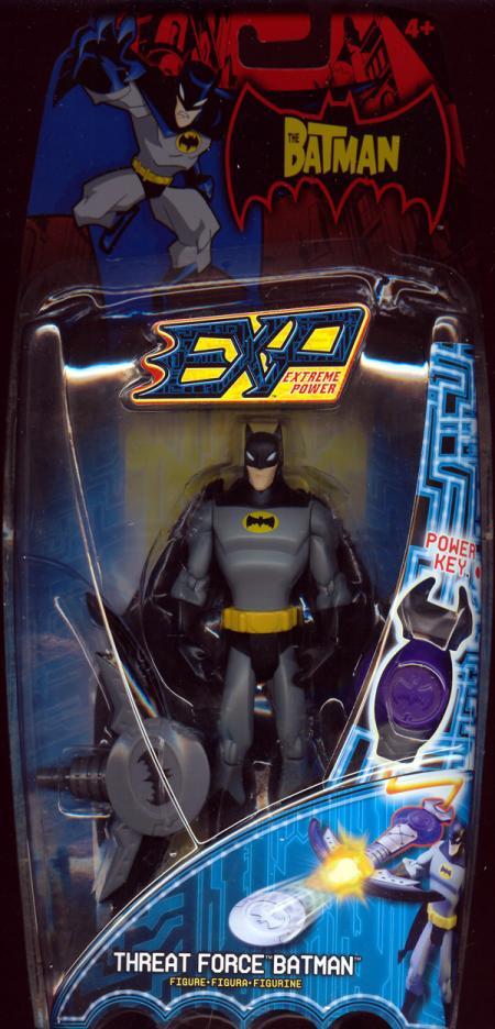 Threat Force Batman Action Figure EXP Extreme Power