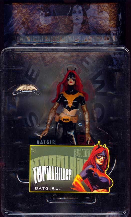 Thrillkiller Batgirl DC Batman Elseworlds action figure