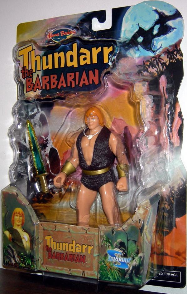 Thundarr Barbarian Hanna-Barbara Toynami action figure