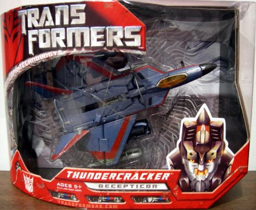 Thundercracker Movie Voyager Transformers action figure