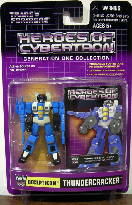 Thundercracker Heroes Cybertron Transformers action figure