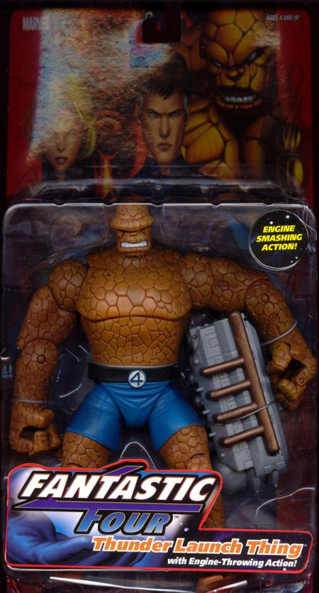 Thunder Launch Thing Figure Fantastic Four 4 Four