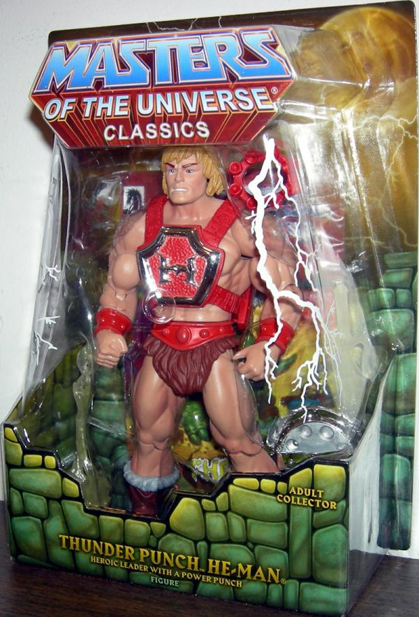 Thunder Punch He-Man Classics Action Figure Masters of the Universe
