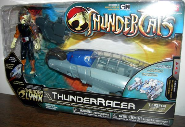 ThunderRacer Tygra ThunderCats Thunder Lynx action figure vehicle
