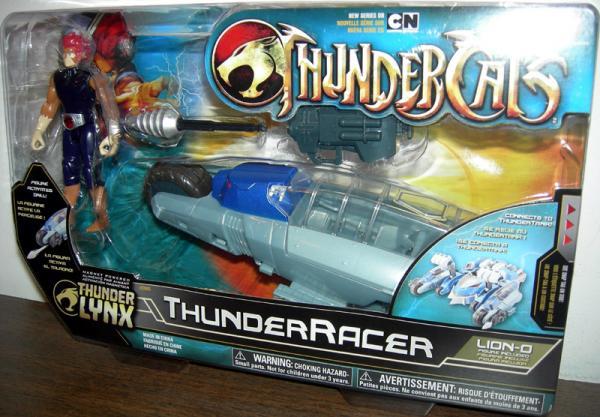 ThunderRacer Lion-O ThunderCats Thunder Lynx action figure vehicle