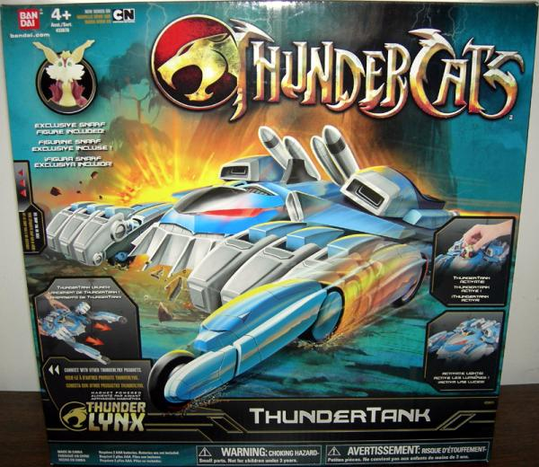 ThunderTank Snarf ThunderCats Thunder Lynx action figure vehicle