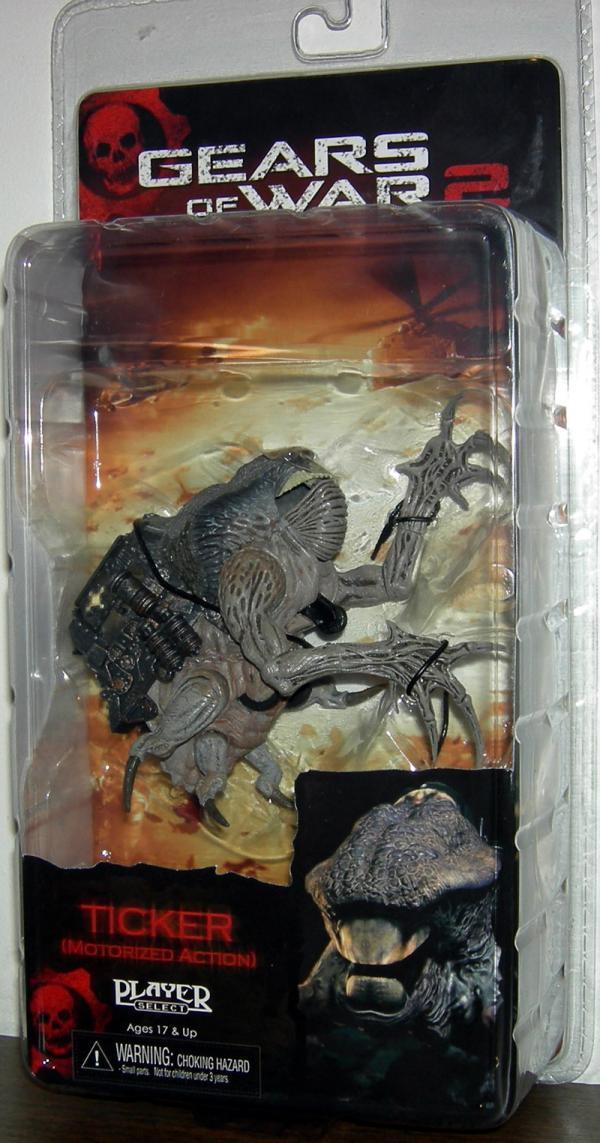 Ticker Gears War 2 Motorized Action figure