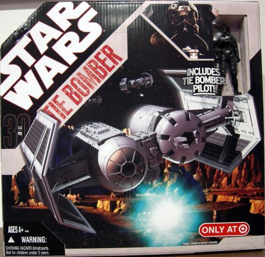 TIE Bomber 30th Anniversary Star Wars vehicle action figure