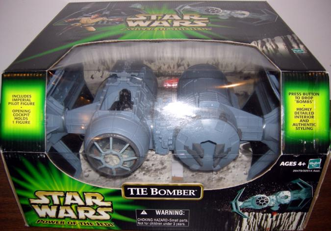 TIE Bomber Power Jedi Star Wars action figure vehicle