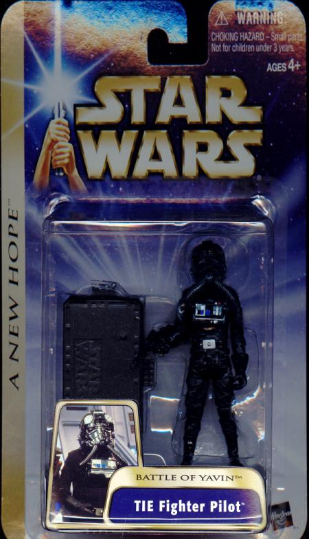 TIE Fighter Pilot Battle Yavin Star Wars New Hope action figure