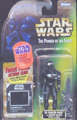 TIE Fighter Pilot Freeze Frame Star Wars Power Force action figure