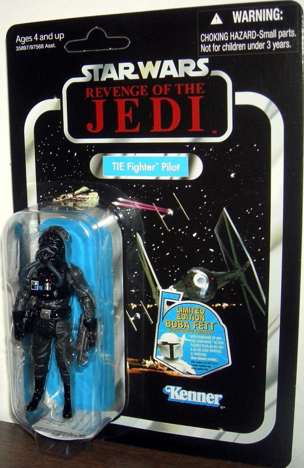 TIE Fighter Pilot Figure VC65 Revenge Jedi Star Wars