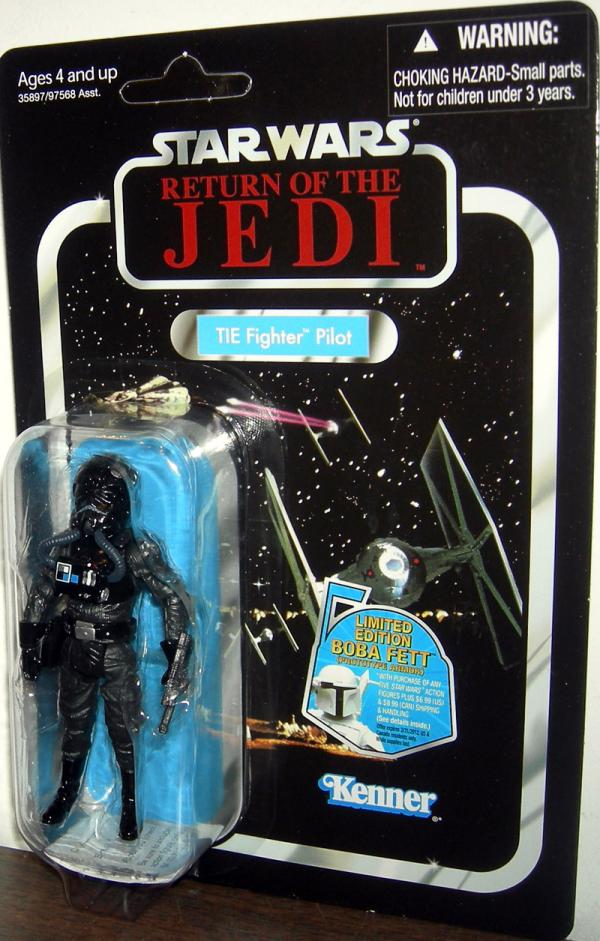 TIE Fighter Pilot Figure VC65 Return Jedi Star Wars