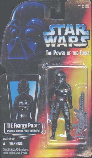 TIE Fighter Pilot Star Wars Power Force action figure