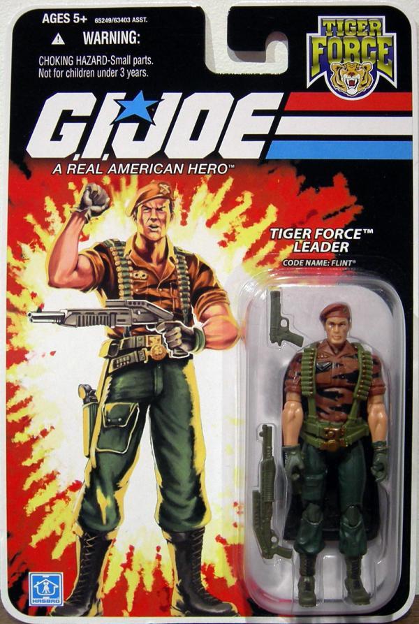 Tiger Force Leader Code Name Flint GI Joe action figure