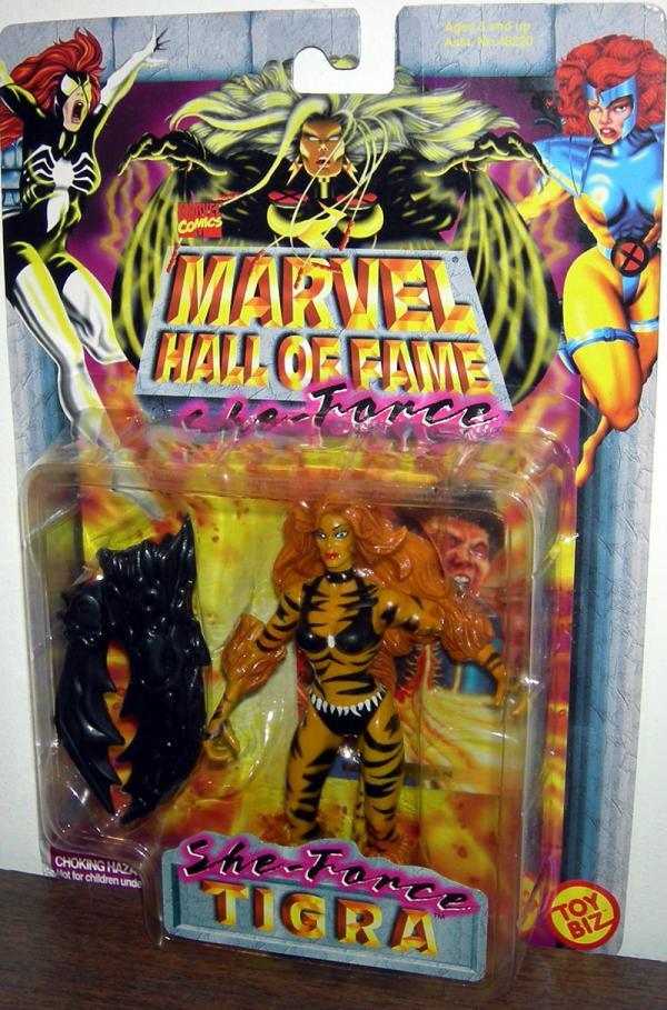 Tigra She-Force Marvel Hall Fame action figure