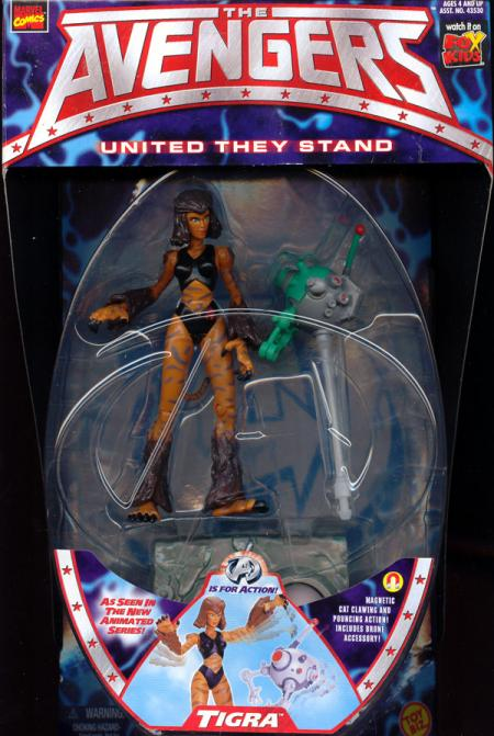 Tigra Figure Avengers Animated Toy Biz