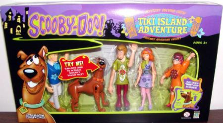 Tiki Island Adventure Figures Scooby-Doo Equity