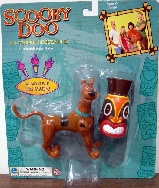 Tiki Tourist Scooby-Doo Figure Movie Collectible