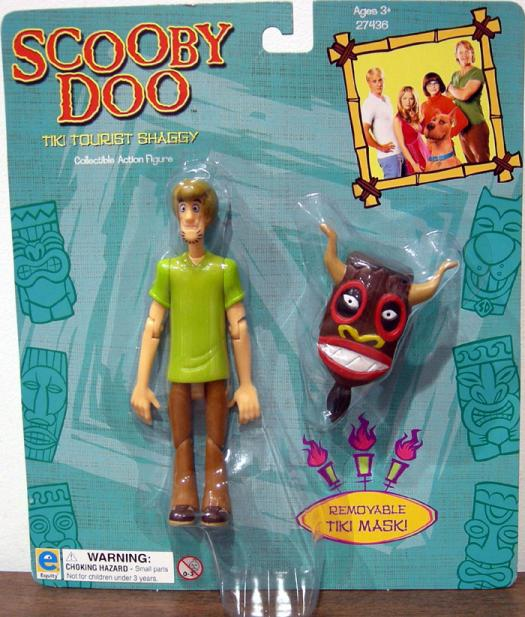 Tiki Tourist Shaggy Action Figure Scooby-Doo Movie Equity