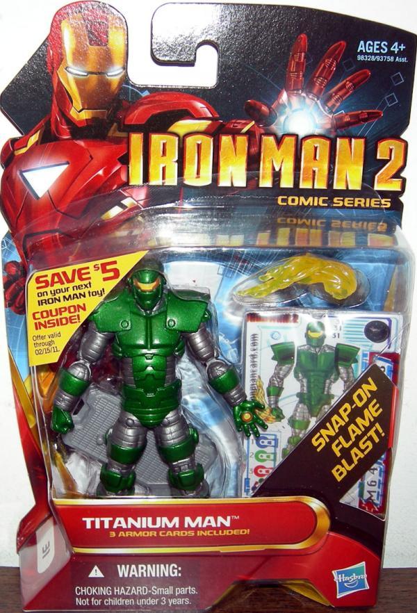 Titanium Man 31 Iron Man 2 Movie action figure