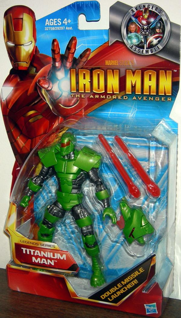 Titanium Man Iron Man Armored Avenger Legends Series action figure