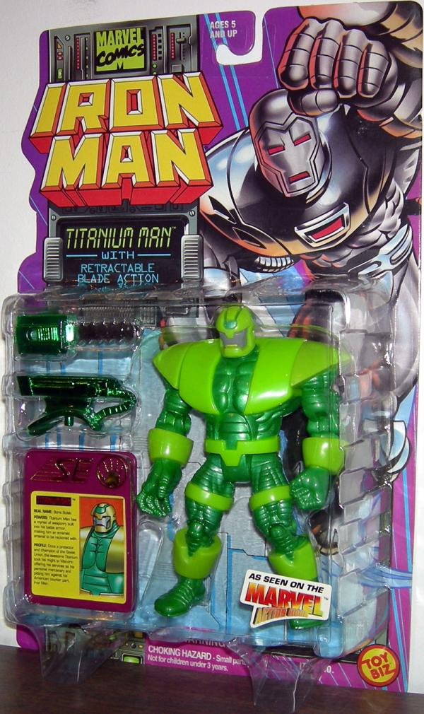 Titanium Man Iron Man Animated Series action figure