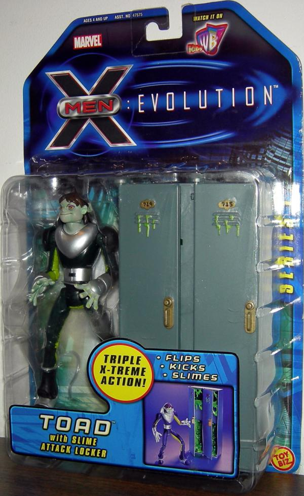 Toad X-Men Evolution Animated Series action figure