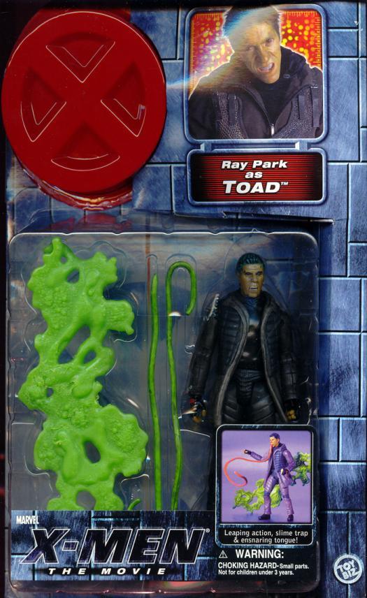 Toad Figure X-Men Movie Ray Park Toy Biz
