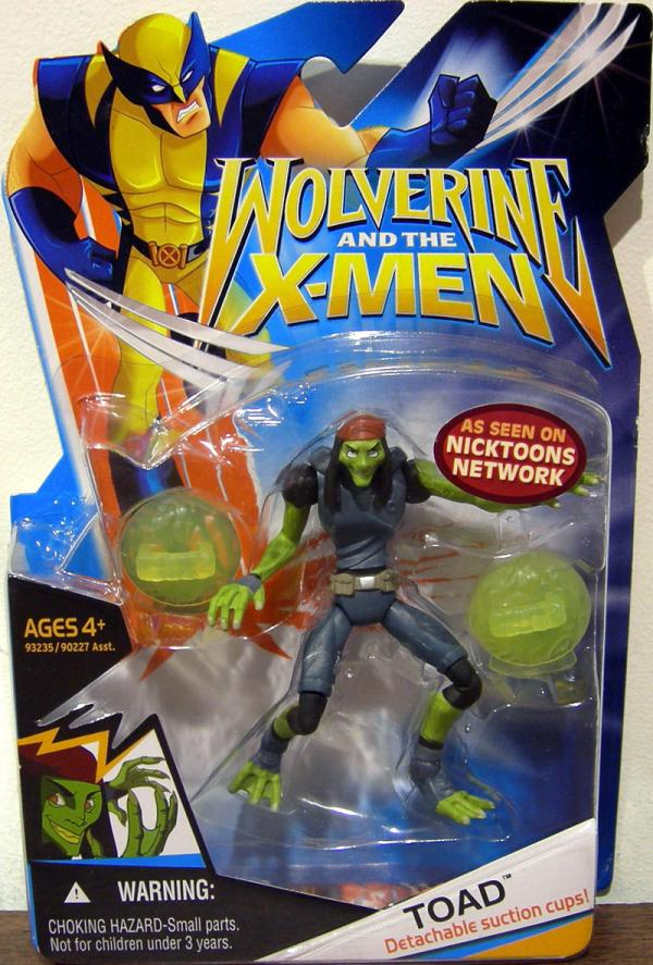 Toad Wolverine X-Men Animated Series action figure