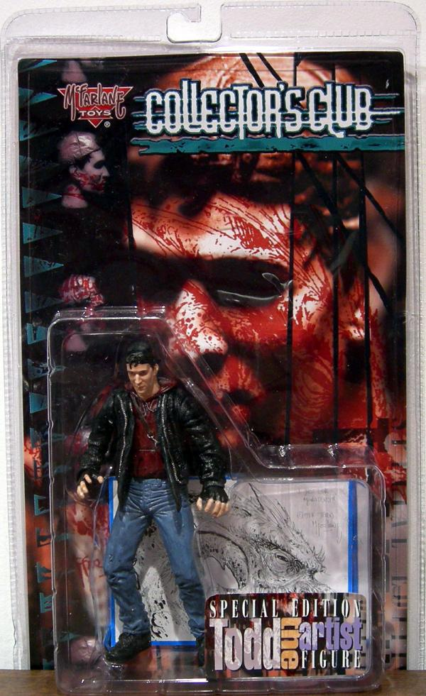 Todd Artist Spawn Collectors Club Exclusive action figure