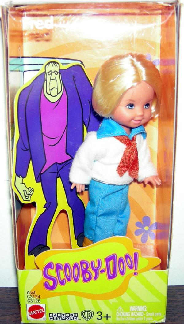 Tommy Fred Scooby-Doo Barbie action figure doll